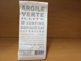 Green Illite superfine powder 300g